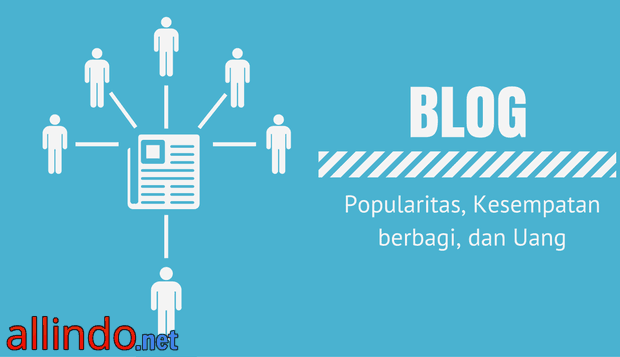 Keuntungan Memiliki Blog Popularitas Berbagi dan Uang