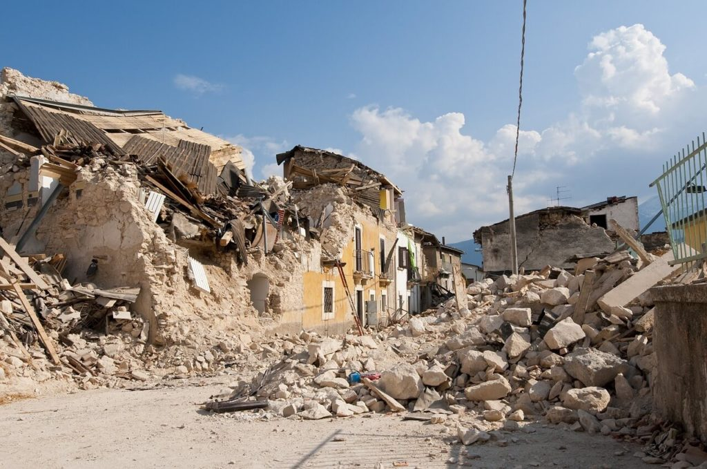 penyebab terjadinya bencana alam gempa bumi