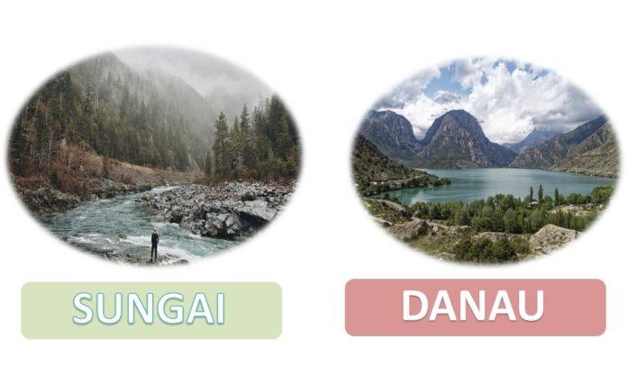 Perbedaan sungai dan danau